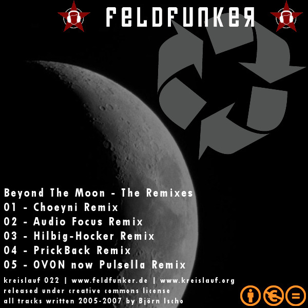 FeldFunker - Beyond The Moon - The Remixes (Kreislauf 022)